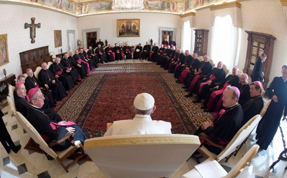 Les évêques d'Irlande en visite ad limina © Radio Vatican
