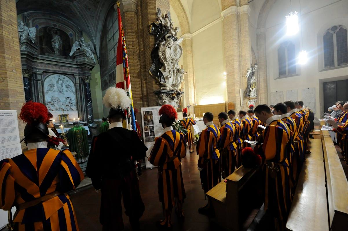 Garde suisse © Facebook Guardia Svizzera Pontificia