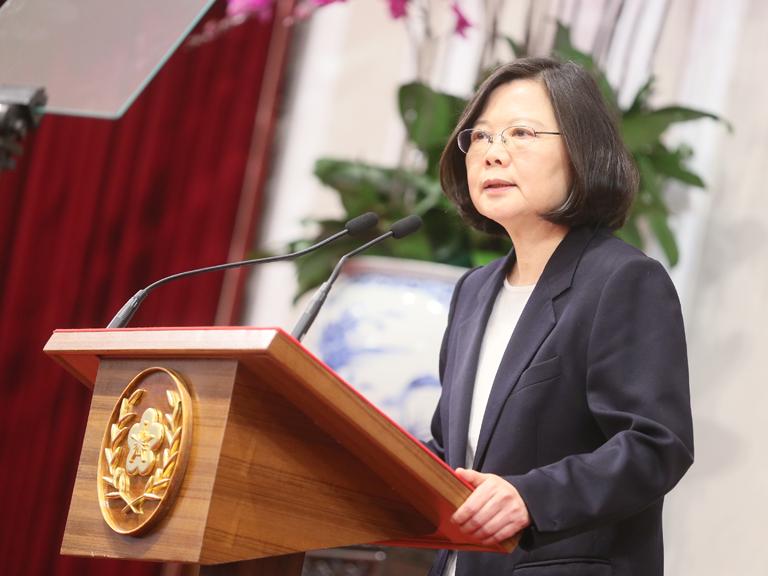 La présidente Tsai Ing-wen, courtoisie de mobileen.president.gov.tw