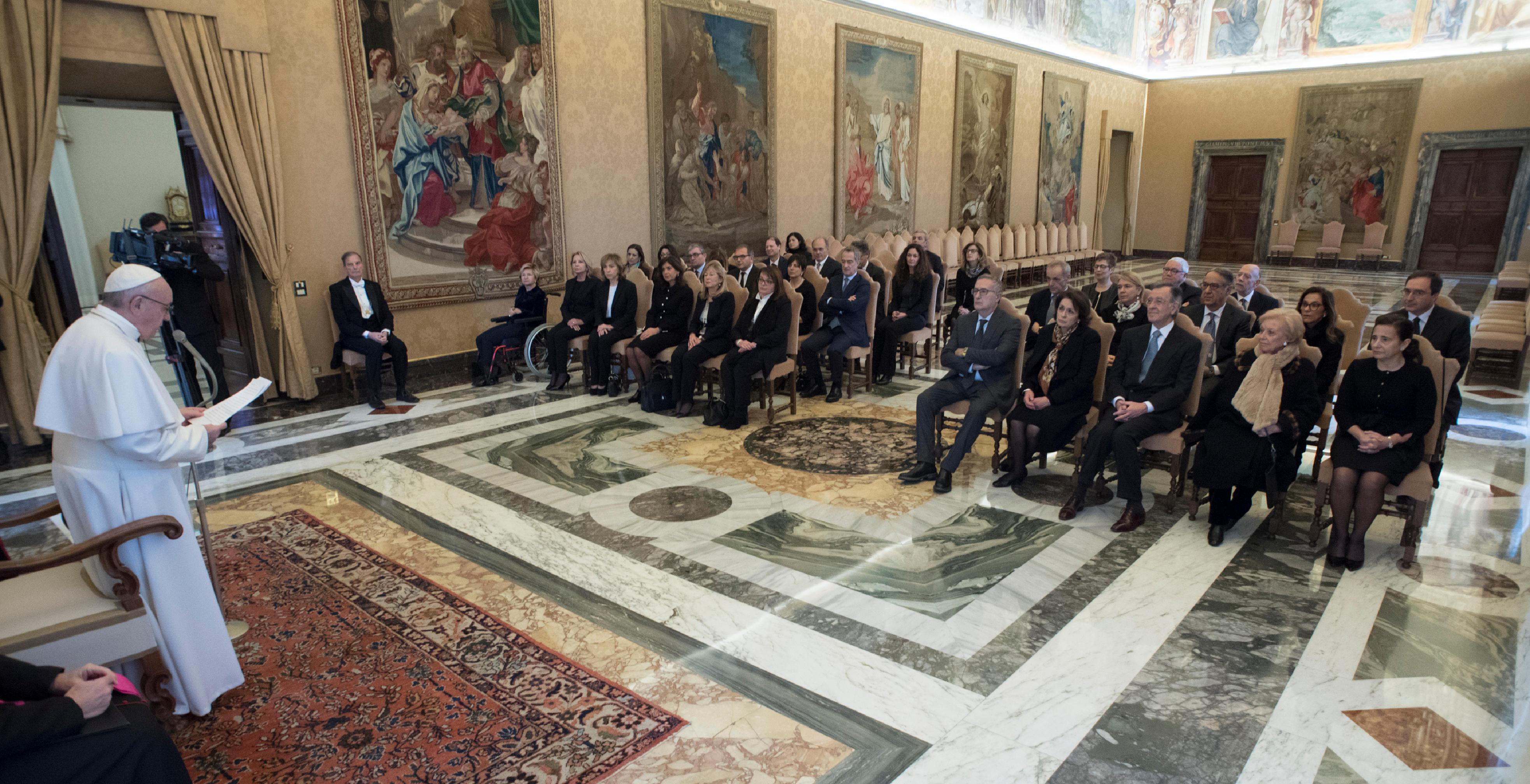 Audience à la Direction nationale antimafia et antiterrorisme © L'Osservatore Romano