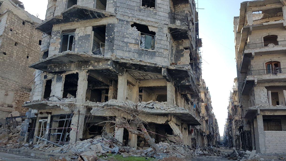 Alep, Syrie © Twitter Cor Unum
