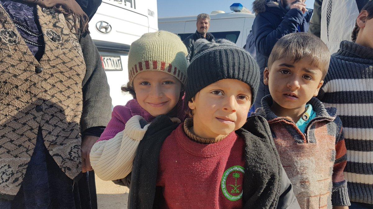 Enfants d'Alep, Syrie © Twitter Cor Unum