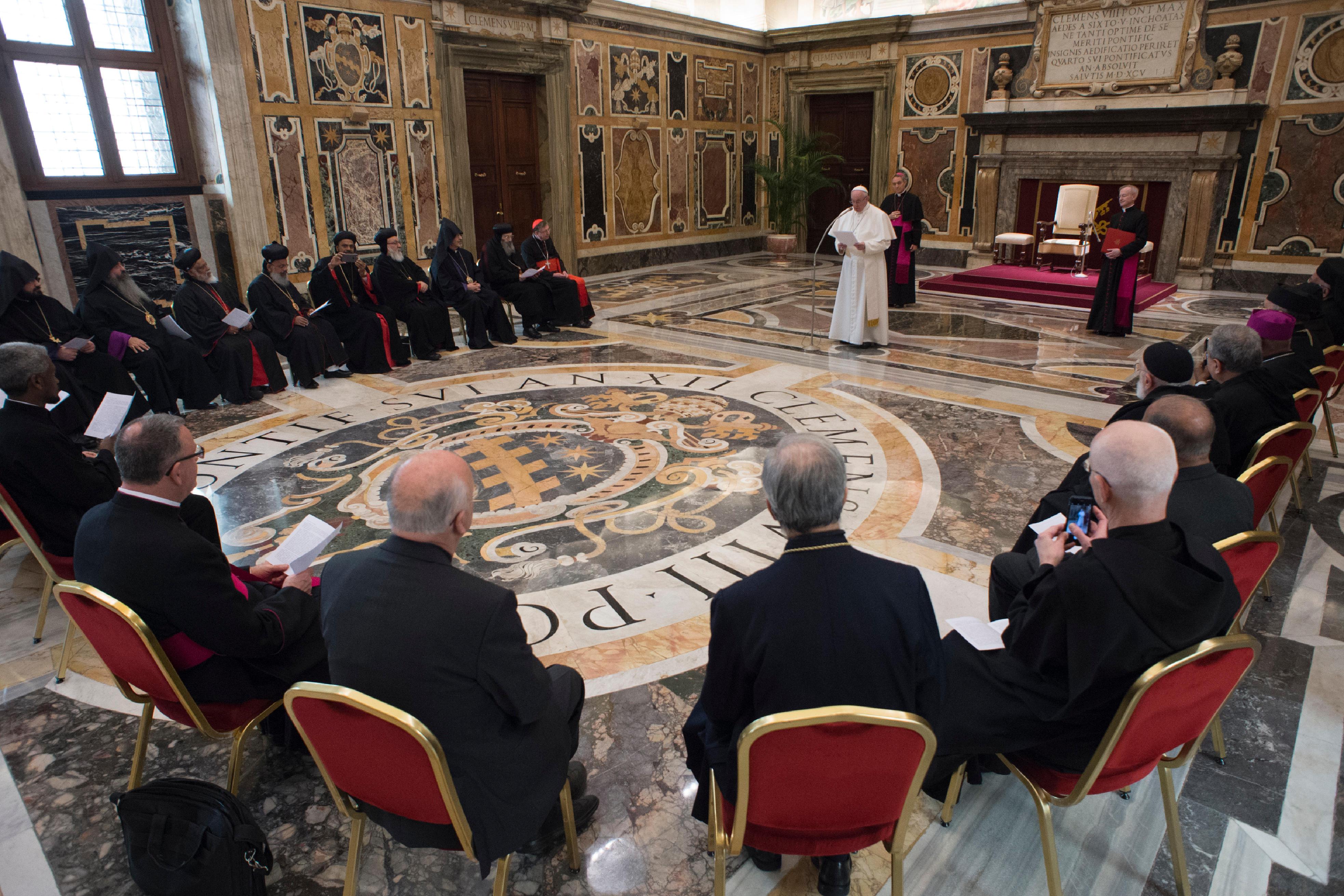 Commission mixte internationale pour le dialogue théologique catholique orthodoxe © L'Osservatore Romano