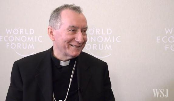 Cardinal Parolin, capture WSJ