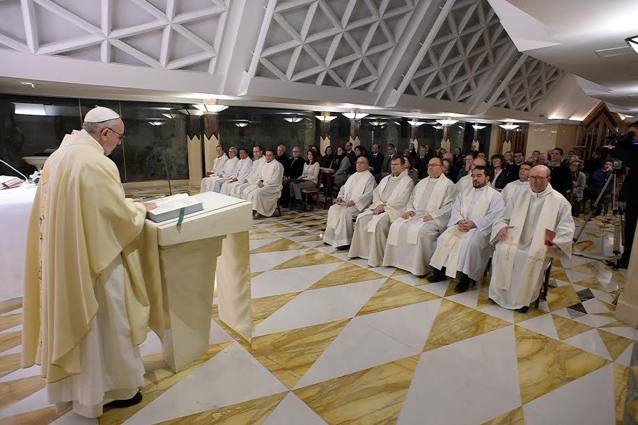 Messe du 17 janv. 2017 © L'Osservatore Romano