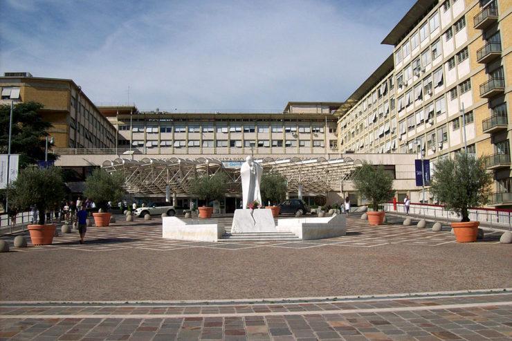 Hôpital universitaire Gemelli, Rome / Wikimedia Commons - Blackcat, CC BY-SA 3.0