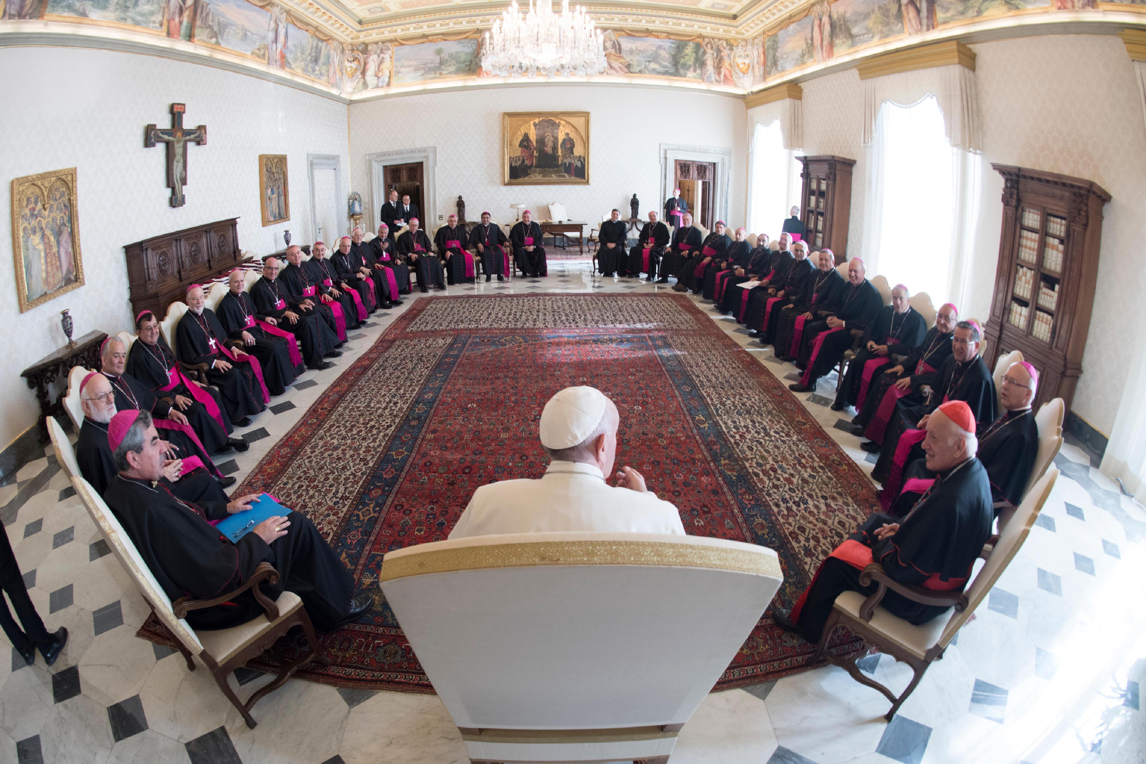 Les évêques du Chili en visite ad limina © L'Osservatore Romano