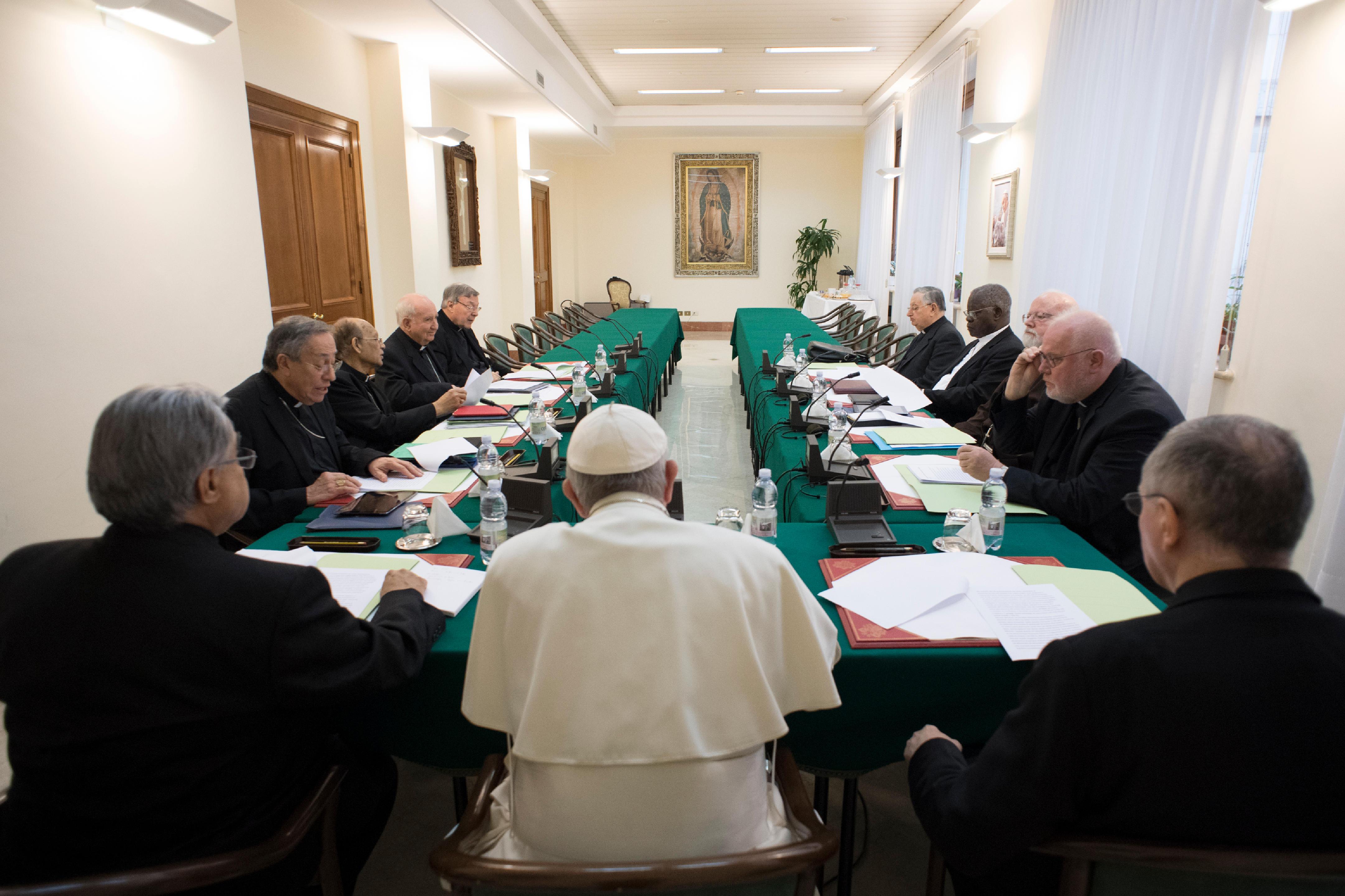 Réunion du C9 © L'Osservatore Romano