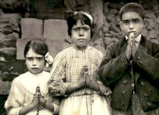 Les trois pastoureaux de Fatima, sanctuaire de Fatima