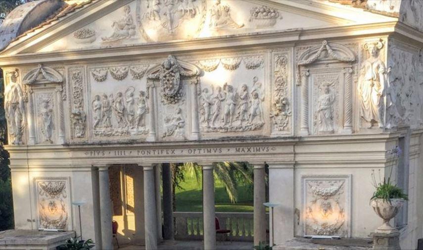 Casina Pio IV, siège de l'Académie pontificale des sciences © Twitter