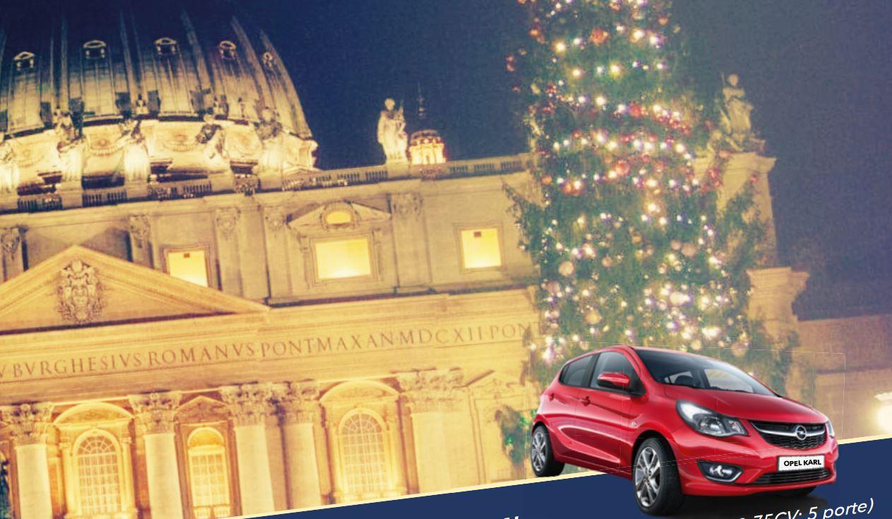 4e loterie de bienfaisance au Vatican, affiche officielle