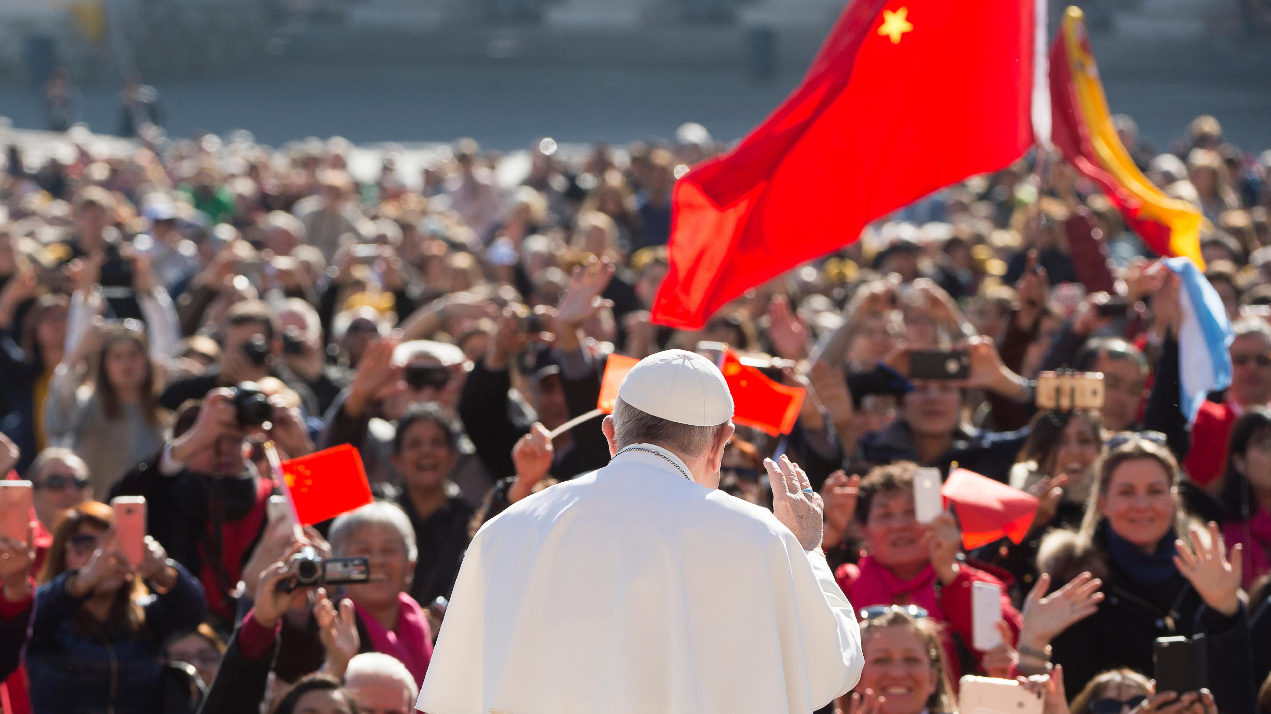 Le pape rencontre des pèlerins de Chine © L'Osservatore Romano