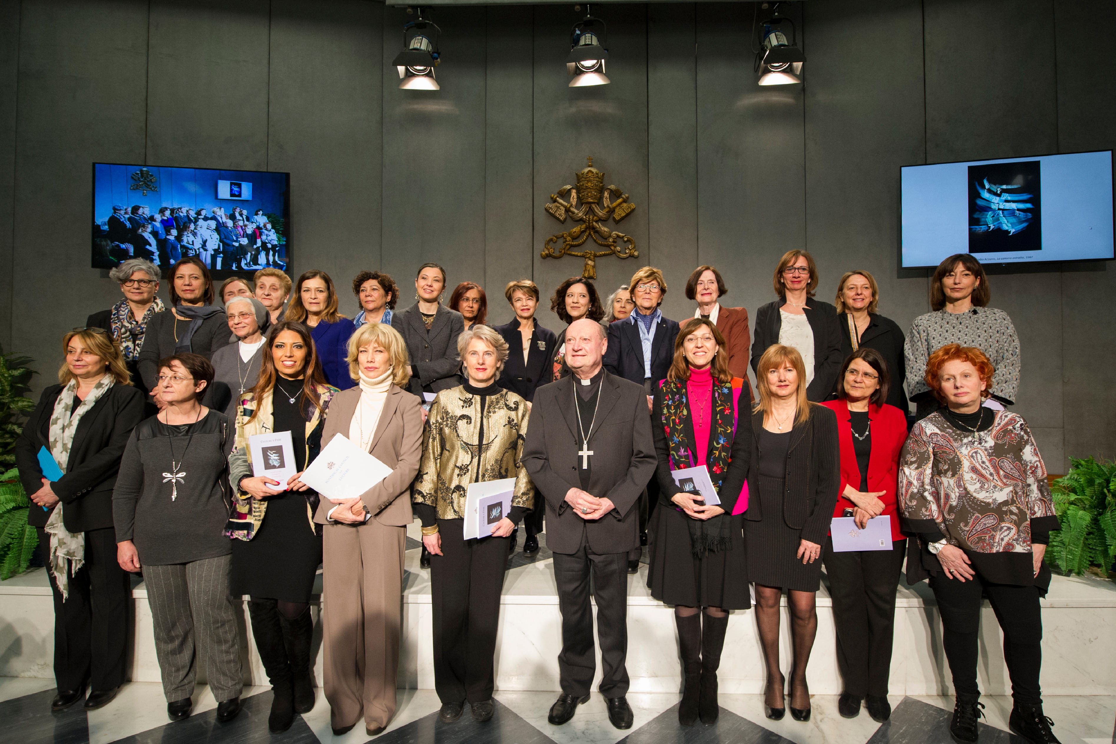 Consultation féminine, dicastère de la culture © L'Osservatore Romano