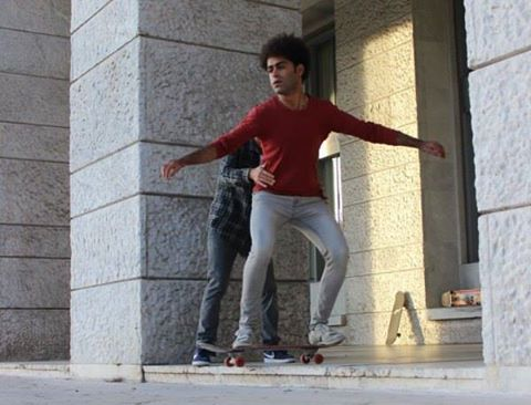 """Skating in the dark"", intiative du centre Sant'Alessio, facebook"