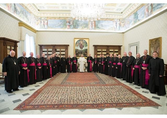 Canada, second groupe d'évêques ad limina © L'Osservatore Romano