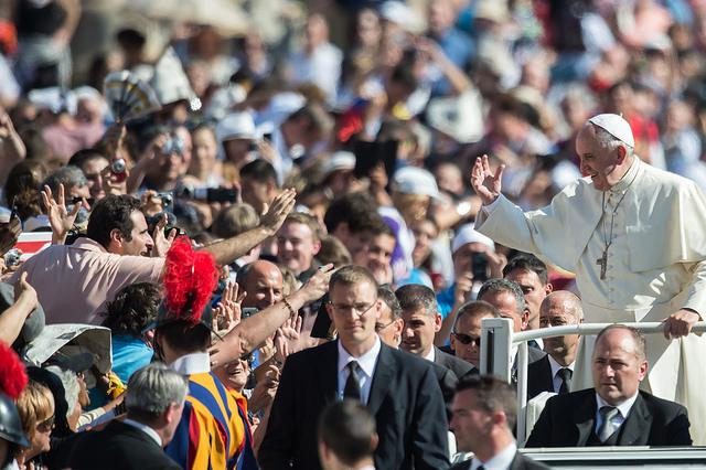 Audience générale du pape François © Mazur/catholicnews.org.uk - CC BY-NC-SA 2.0