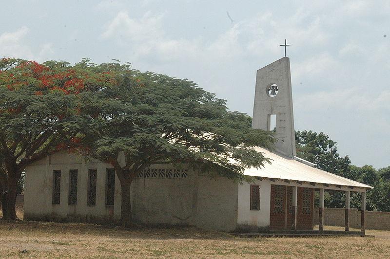Eglise catholique en République centrafricaine © Wikimedia Commons / Crobert068