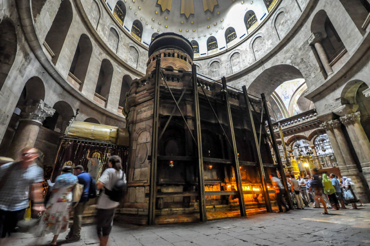 Jérusalem, basilique de la résurrection, ou Saint-Sépulcre, Wikimedia Commons - Jlascar, CC BY 2.0