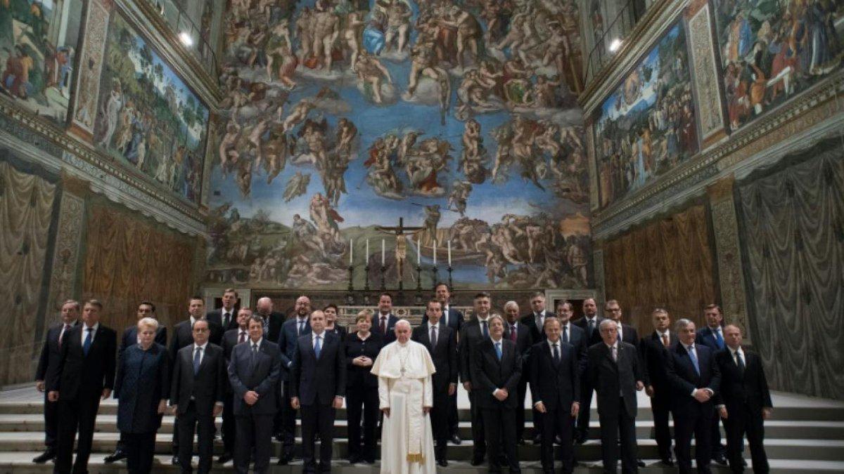 Anniversaire des Traités de Rome, 24 mars 2017 © L'Osservatore Romano