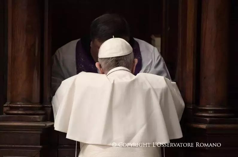 LIturgie du pardon, 17 mars 2017 © L'Osservatore Romano