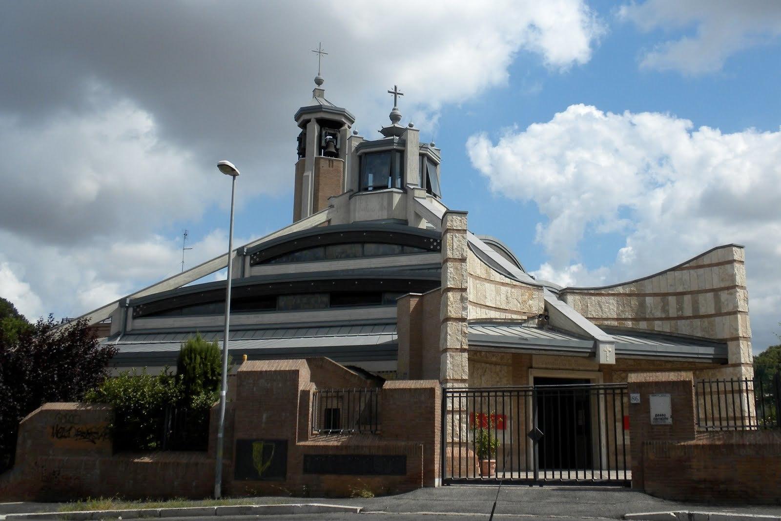Eglise Santa Maddalena di Canossa, Rome © larry-amoroma.blogspot.fr