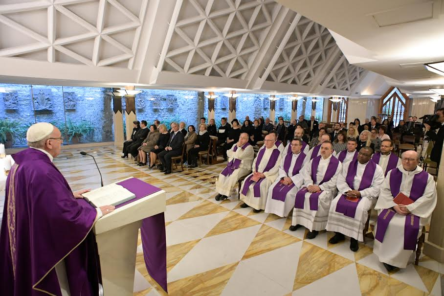 Messe du 14 mars 2017 © L'Osservatore Romano