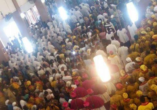 Consécration du Ghana au Coeur de Jésus © Facebook Catholic Archdiocese of Accra