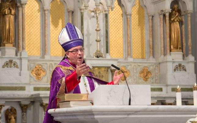 Mgr Daniel Miehm, Canada © hamiltondiocese.com