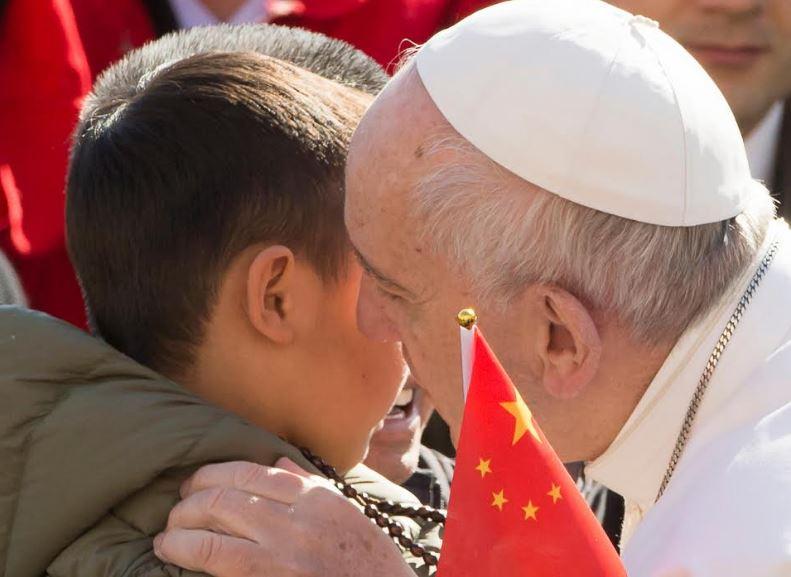 Le pape rencontre des pèlerins chinois © L'Osservatore Romano