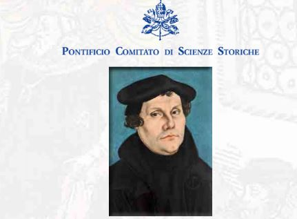 Brochure du congrès sur Martin Luther au Vatican