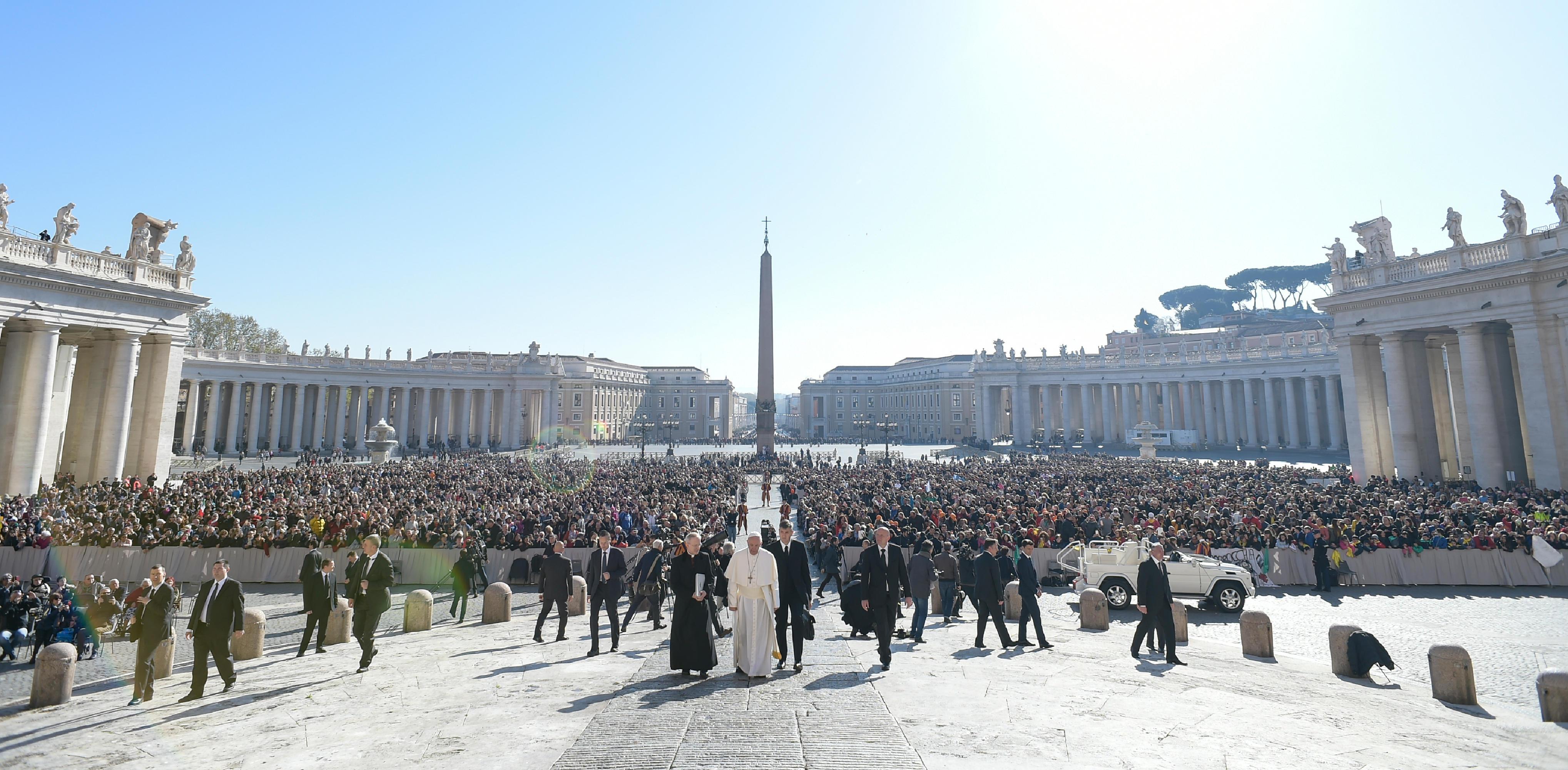 Audience du 29 mars 2017 © L'Osservatore Romano