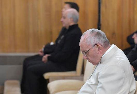 Retraite de carême à Ariccia © L'Osservatore Romano