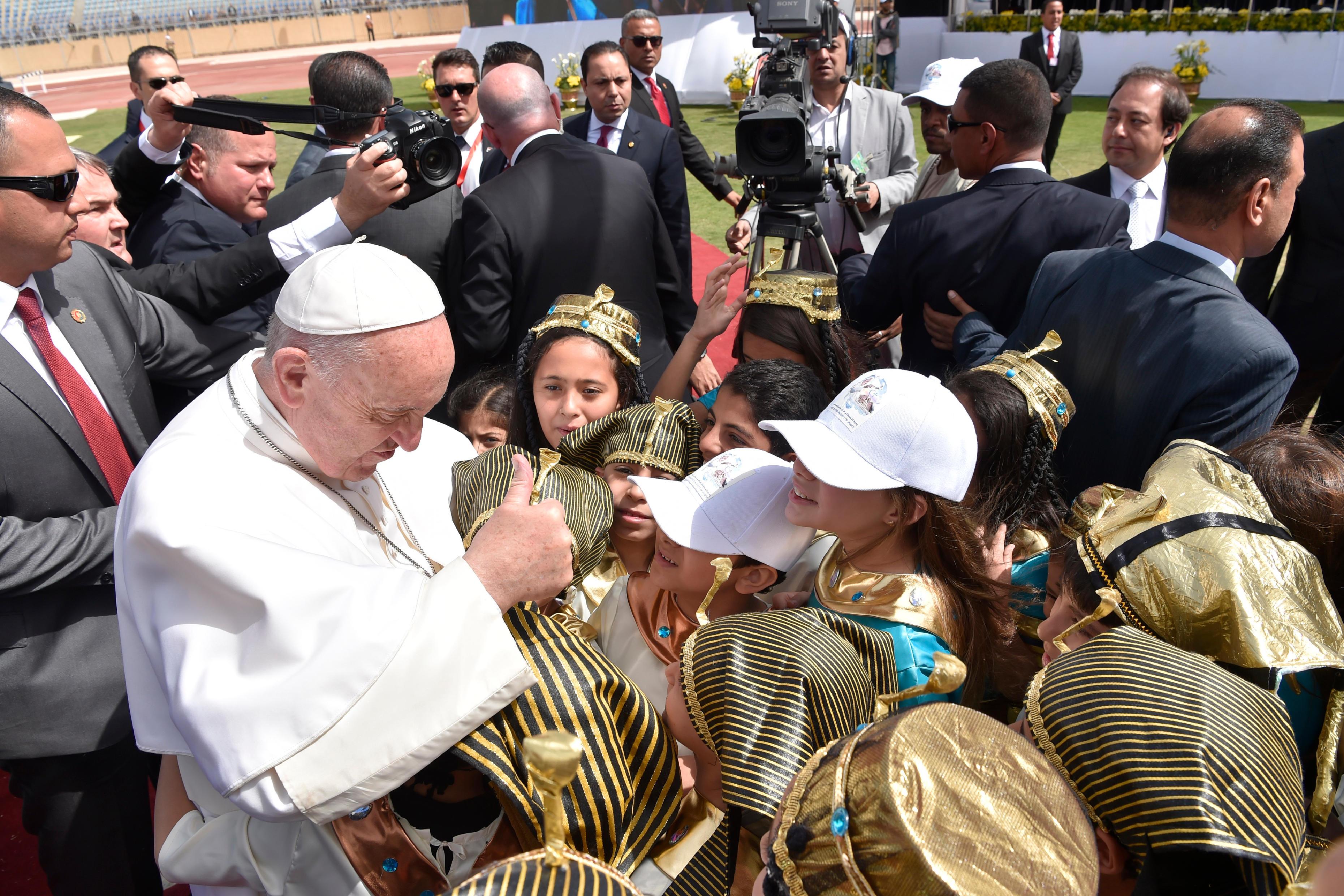 Messe au Stade du Caire, Egypte © L'Osservatore Romano