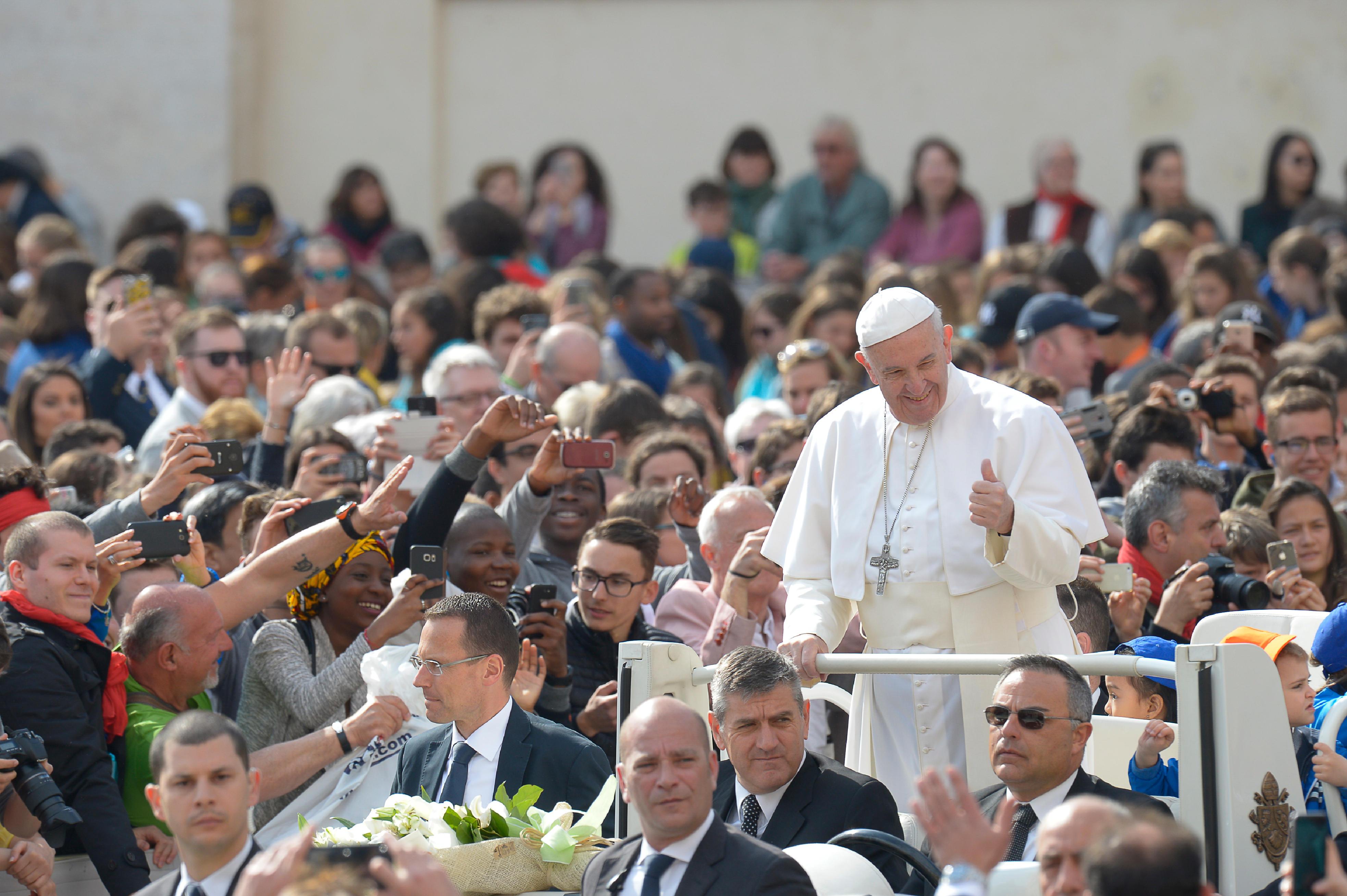 Audience générale du 26 avril 2017 © L'Osservatore Romano