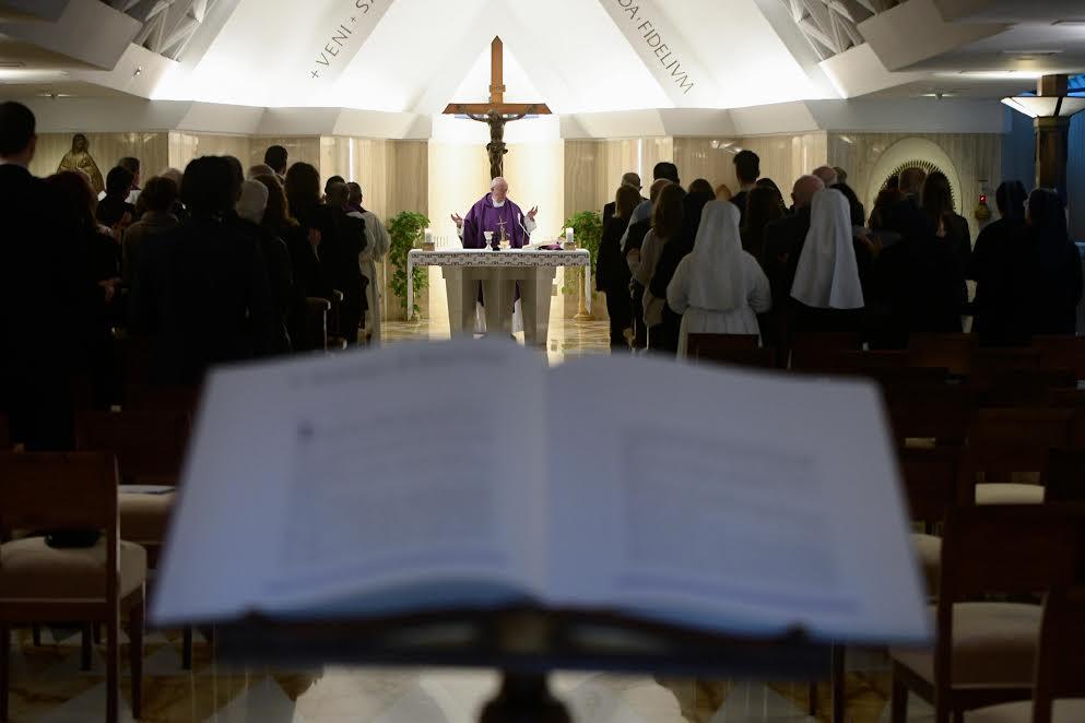 Sainte-Marthe, 4 av. 2017 © L'Osservatore Romano
