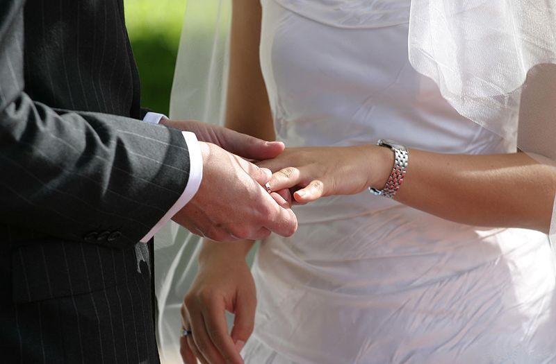 Mariage, wikimedia commons © Jason Hutchens/Sydney, Australia