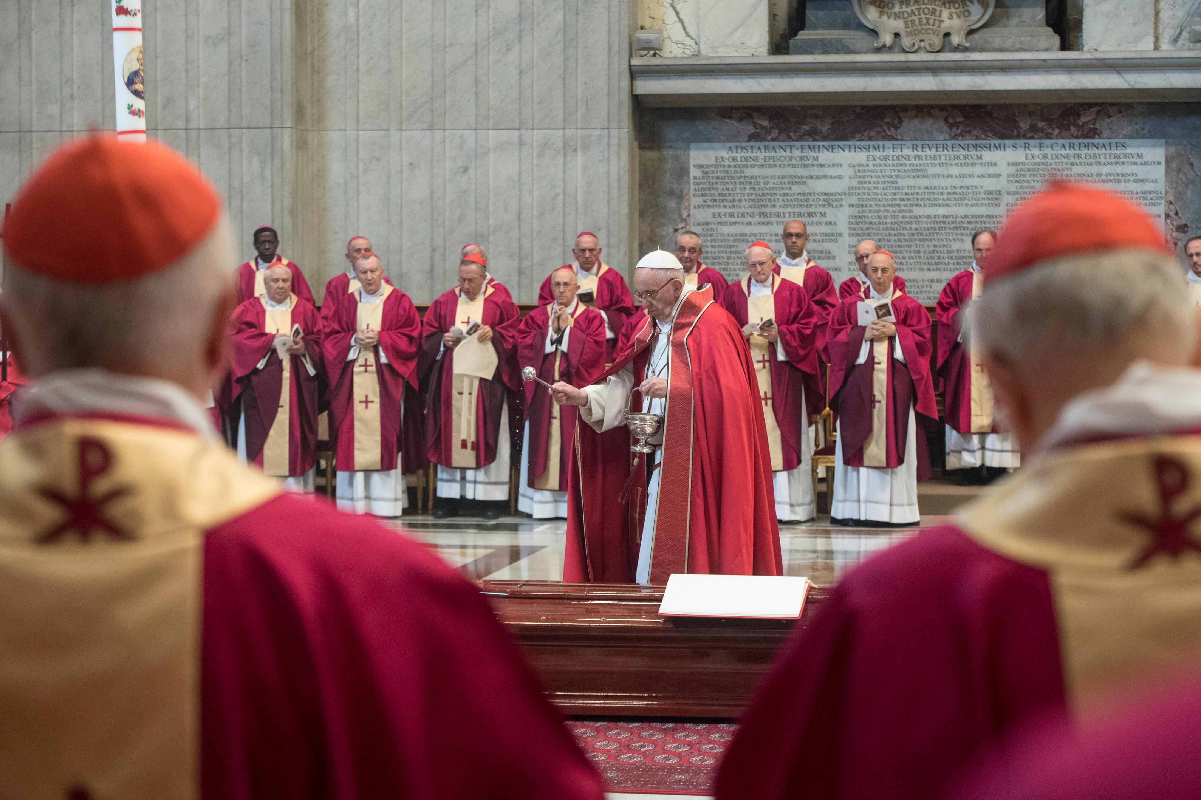Funérailles du card. Nicora © L'Osservatore Romano