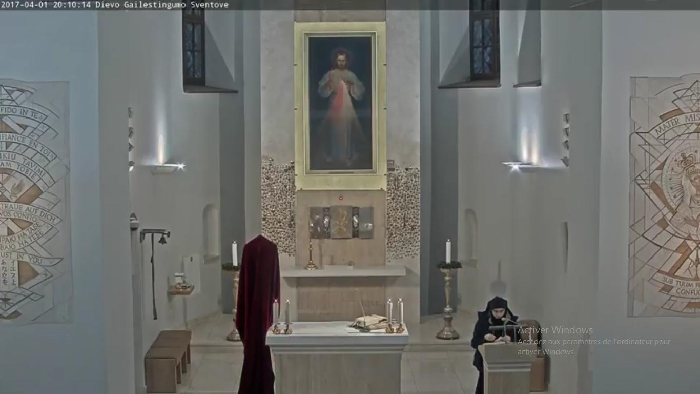 Sanctuaire de Jésus miséricordieux, Vilnius (Lituanie), capture