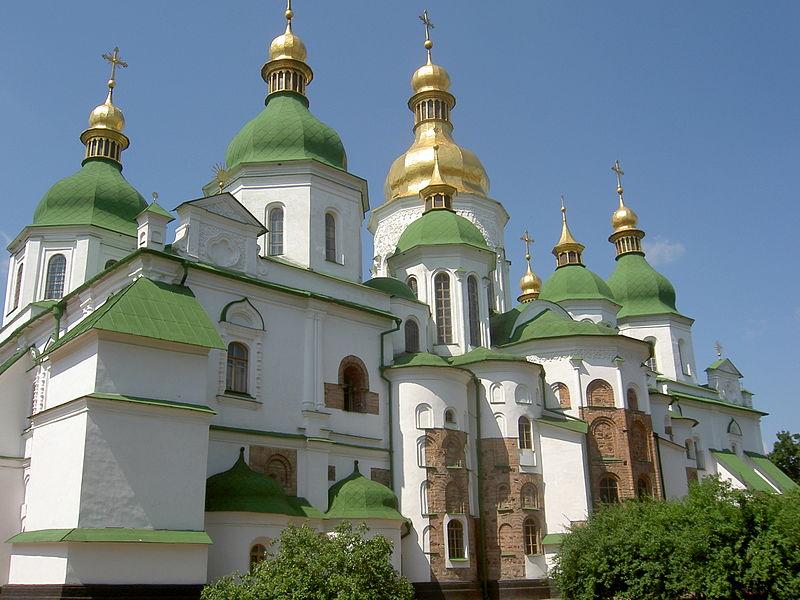 Sainte-Sophie, Kiev, wikimedia Commons, Dezidor