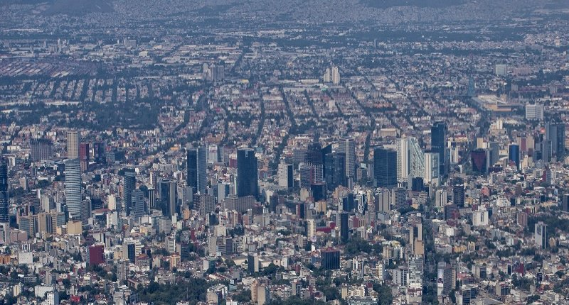 Vue aérienne de Mexico (Shutterstock)