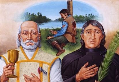 André de Soveral, Ambrosio Francisco Ferro, et Mateus Moreira, martyrs du Brésil