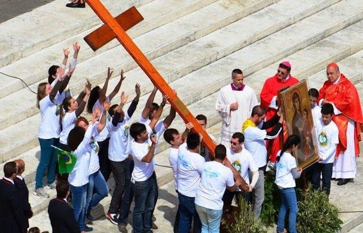 La croix des JMJ © L'Osservatore Romano