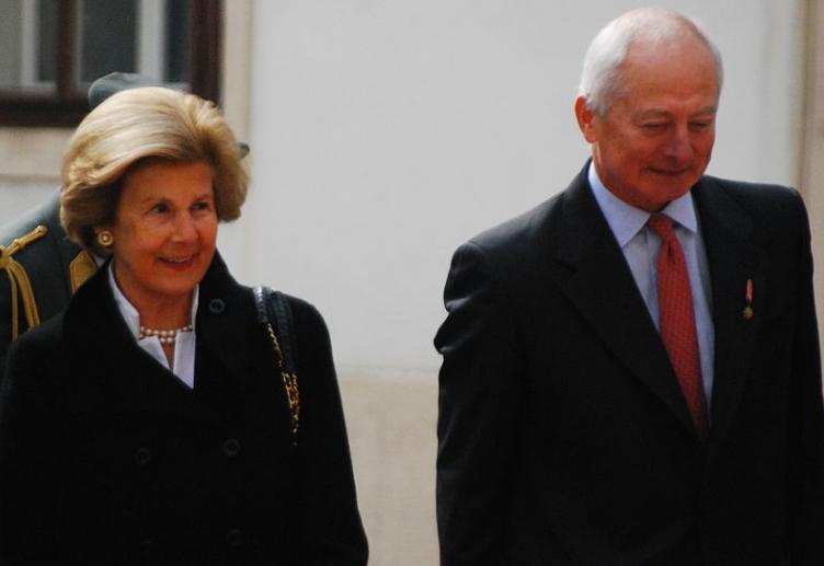 Prince Hans-Adam II du Liechtenstein et son épouse Marie © Wikimedia commons / Guenther