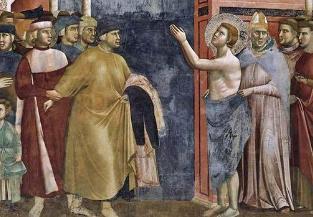 Dépouillement de saint François d'Assise © sanfrancesco.org