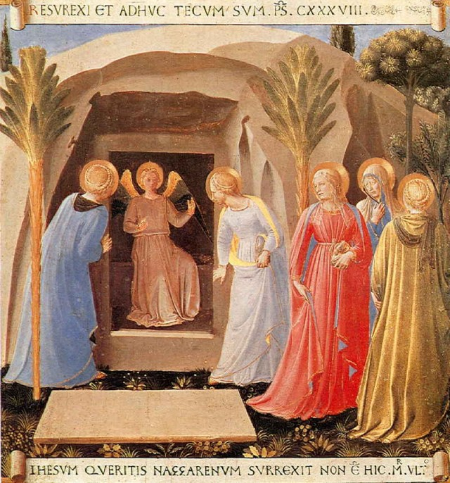 Résurrection, Fra Angelico © Museo San Marco, Florence