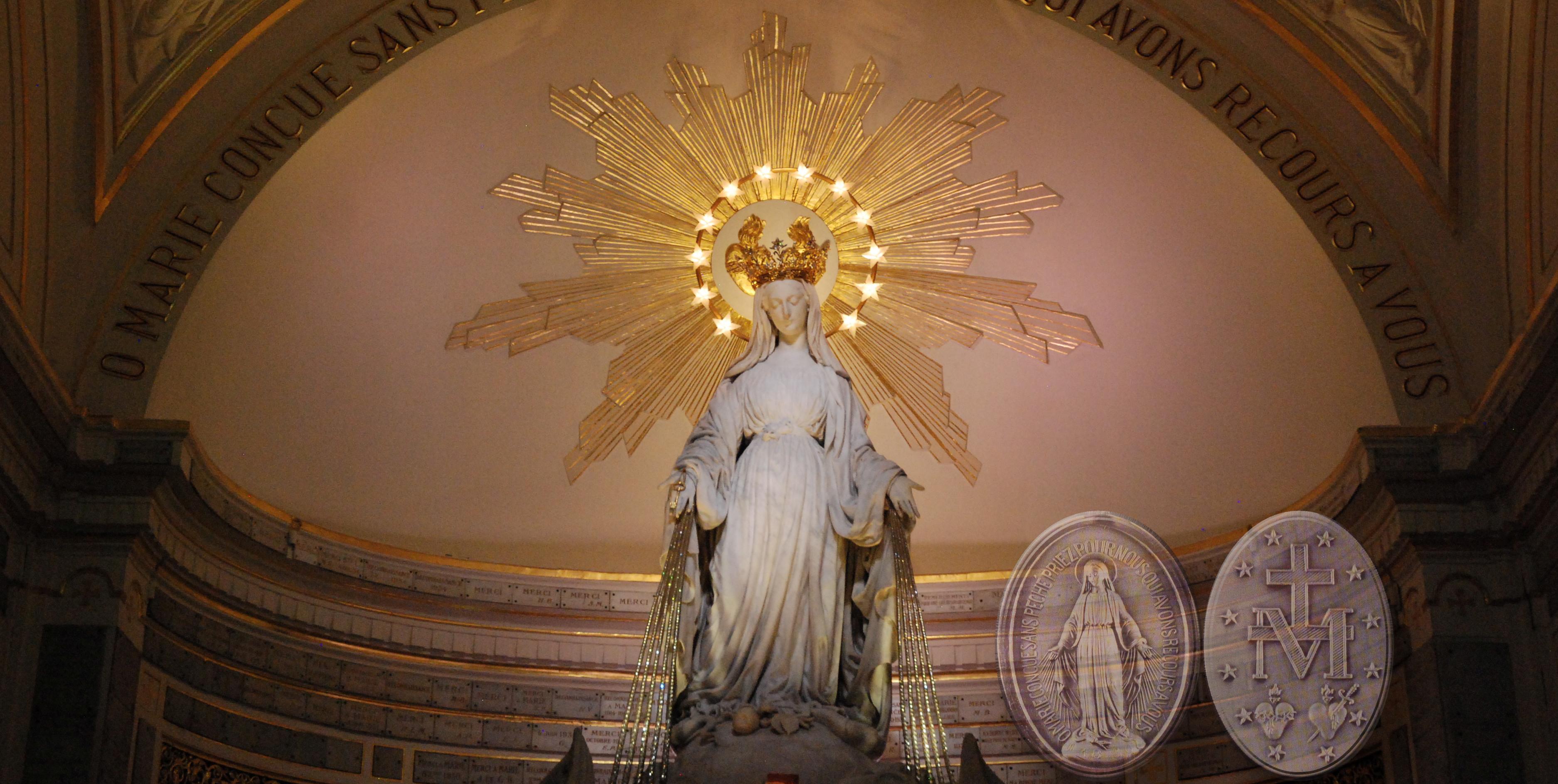 Chapelle de N.-D. de la Médaille miraculeuse, Paris © chapellenotredamedelamedaillemiraculeuse.com