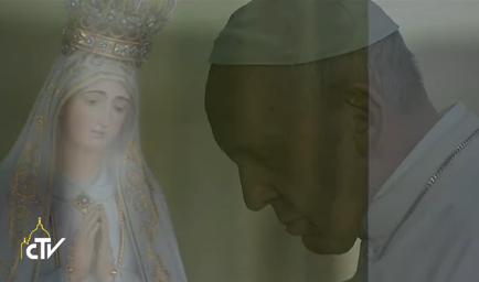 Fatima, prière à la chapelle des apparitions, capture CTV