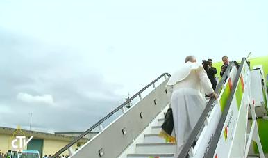 Embarquement pour Fatima-Rome, capture CTV