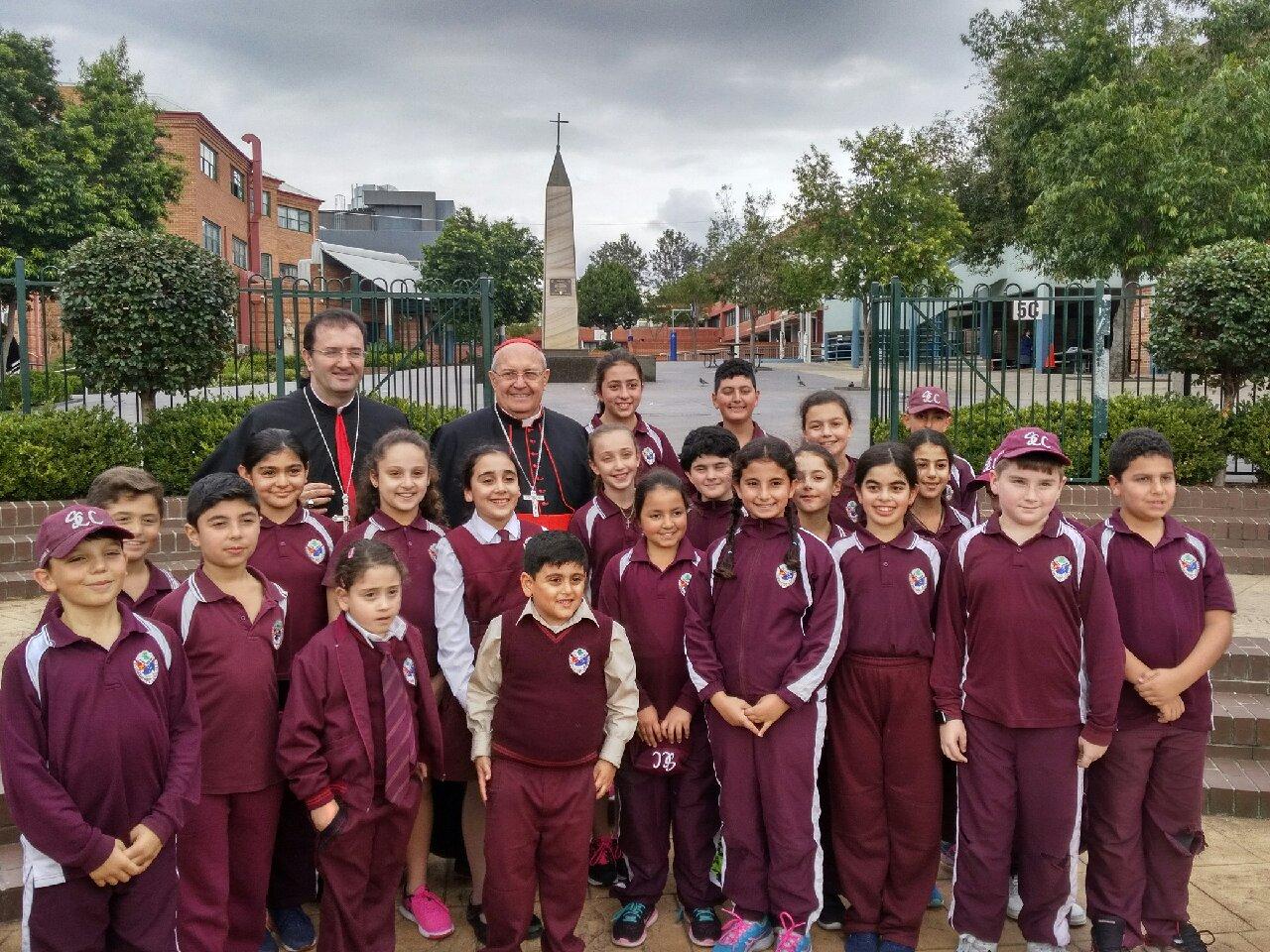 Le cardinal Sandri rencontre des jeunes orientaux, Australie © Congrégation pour les Eglises orientales