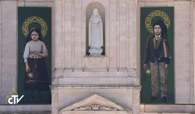 Messe de canonisation de Francisco et Jacinta à Fatima, capture CTV